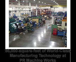 pr machine works shop floor